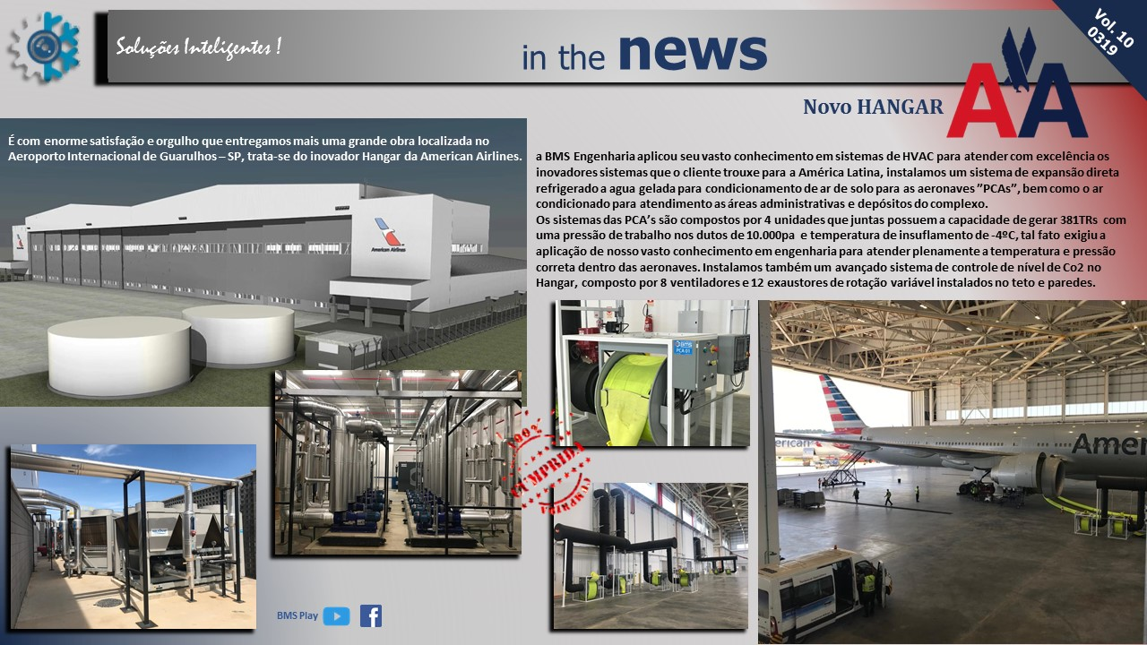 Novo Hangar American Airlines